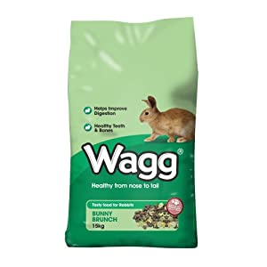Wagg Bunny Brunch for Rabbits, 4kg