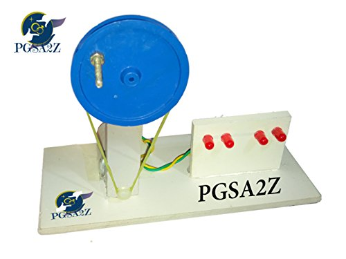 PGSA2Z Working Model On Science Project DC Generator Electricity Educational Learning Toy