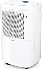 Pro Breeze® 12L Portable Dehumidifier with 4 Modes, Digital Display, Continuous Drainage, Laundry Drying and Timers