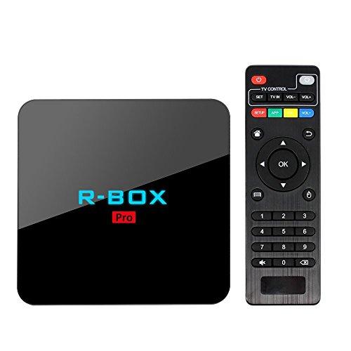 gzcrdz Android TV Box R caja Pro mejor 7.1Android TV CPU Amlogic S91217,0media jugador RAM 3GB ROM 32GB Bluetooth 4.0Set Top Box