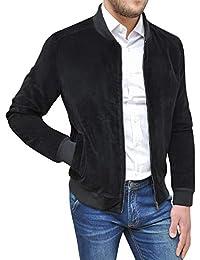 Amazon Camoscio Giacca it Uomo Abbigliamento SwfwOaAq
