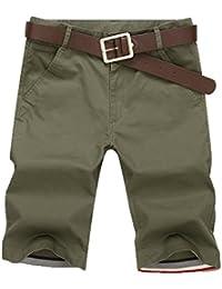 Mengmiao Pantalones Cortos de Camuflaje de Carga para Hombres Pantalones Cortos de Verano de Carga Pantalones Cortos de Camo…