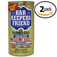 Bar Keepers Friend Cleanser & Polish 12 Oz Two Pack