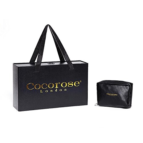 Cocorose Scarpe Pieghevoli - Buckingham Ballerine Donna Pelle Rosa Pastello & Arco