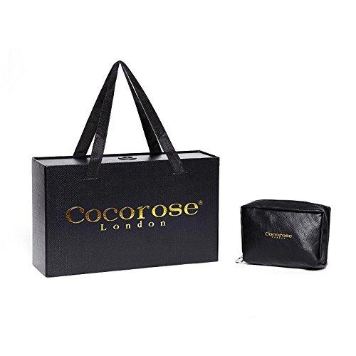 Cocorose Scarpe Pieghevoli - clapham Ballerine Donna Pelle Rosa & Argento