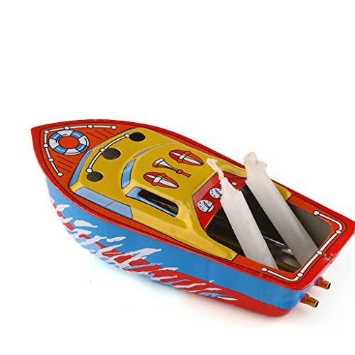 lgisches Boot für Kerzenlagerung Personalisierte Kreative Ornamente mit Kerzen Cool verpacktes Spielzeuggeschenk ()