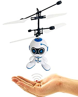Drone Flying Robot Kids Remote Control Mini Drone Magic RC Flying Toys Infrared Induction Helicopter Drone