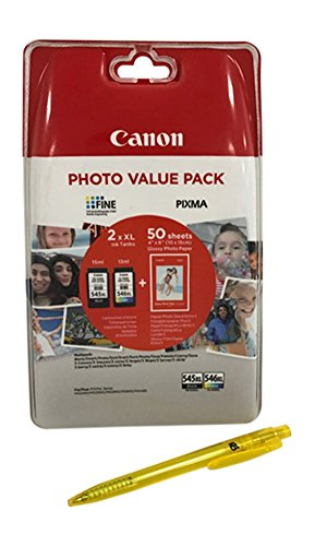 Cartucce per stampanti Canon Pixma TS205, TS305, TS3150, TS3151 black/color XL Nero