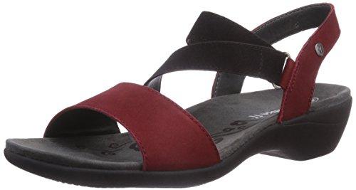 Romika  Palma 03, Sandales pour femme Rouge - Rot (rot 400)