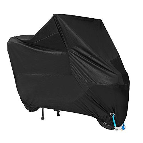 Funda Protector para Moto Cubierta de Motocicleta Impermeable Anti UV para motocicleta