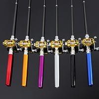GIVBRO: bolígrafo de Bolsillo en Forma de Barra de aleación de Aluminio para caña de Pescar Combos