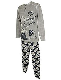 Pijama de manga larga para hombre HAPPY PEOPLE articulo 3921