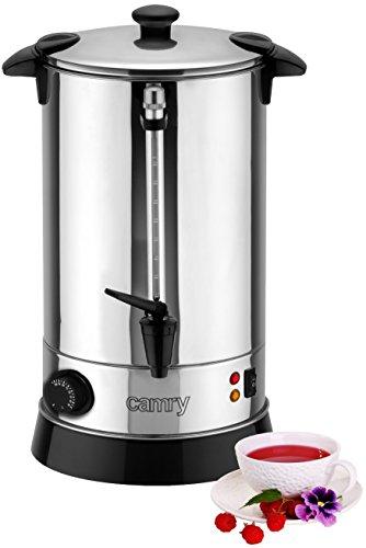 8,8 L Wasserspender | Boiler | Glühweinspender | Thermopot | Heißwasserspender | 950 Watt | Temperaturregeler (30-100°) | Einkochtopf | Überhitzungschutz| Cool-Touch-Kunststoff-Griffe |