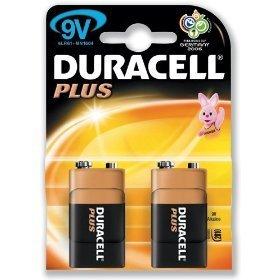 Duracell Plus MN1604 Power Batterien (alkalisch, 9 V 750518 88/81 (DE) 275365, 2 Stück