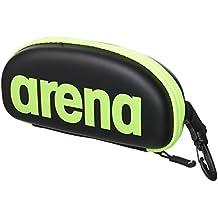 arena Google Estuche para Gafas de Bucear, Unisex Adulto, Negro (Black / Fluo), Única