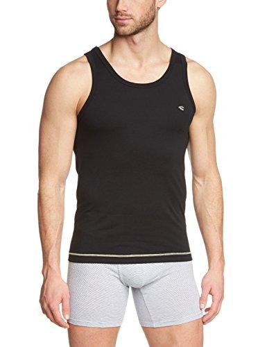 Camel Active Bodywear Herren Unterhemd 400502 Schwarz (black olive 8091)