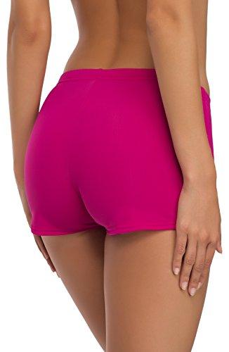 Merry Style Damen Badeshorts Bikinihose Modell L23L1 Rosa (4140)
