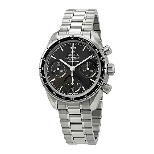Omega Speedmaster Chronograph Automatic Black Dial Mens Watch 324.30.38.50.01.001