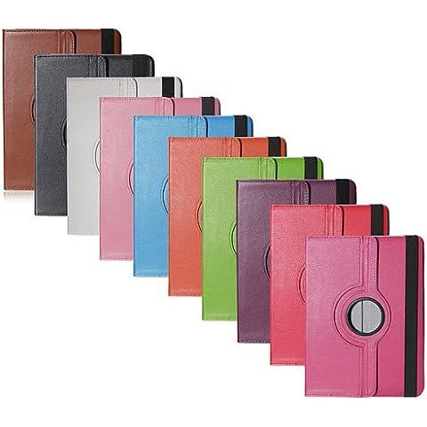 360 que giran la caja de cuero para Samsung Galaxy Note 10.1 SM-P600.