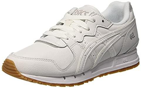 Asics Gel-Movimentum, Chaussures de Gymnastique Femme, Blanc Cassé (White/White), 39 EU