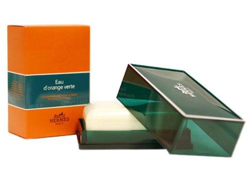 Hermes Paris Eau D 'Orange Verte Seife Parfümiert-150gr - Hermes Seife