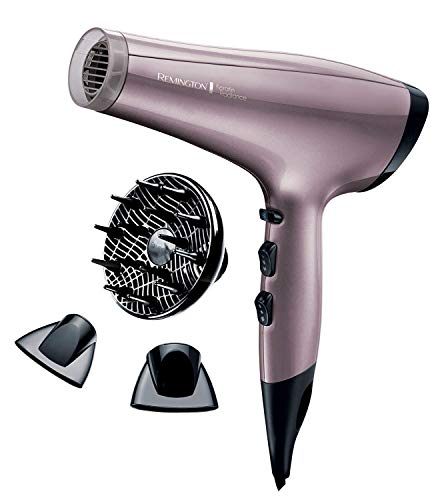 Remington Keratin Radiance 2200 W Dryer with Advanced Keratin and Macadamia Ceramic Coated Grille