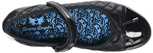 Angry Angels Gossip, Mary Jane fille Noir (Black)