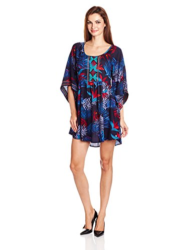 Roxy Sunset City - Robe femme ARJWD03085 Noir - 6600 Midnight Palm Dark Navy K