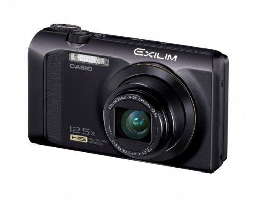 Casio Exilim EX-ZR300 Digitalkamera (16,1 Megapixel, 7,6 cm (3 Zoll) Display, 25-Fach Multi SR Zoom, 24mm Weitwinkel, HS-Nachtaufnahme, HDR) schwarz Casio Exilim