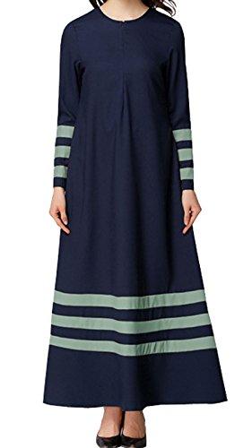Alisa.Sonya Damen Kleid Marineblau
