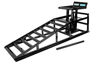 rampe de levage cric hydraulique hauteur r glable pour voiture auto et moto. Black Bedroom Furniture Sets. Home Design Ideas