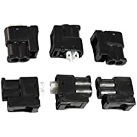 APDTY 112607 Ignition Coil Connector Set Of 6 Fits 1994-1995 Lexus ES300 / 1995 Avalon V6 3.0L / 1994-1995 Toyota Camry V6 3.0L / 2010-2014 Toyota 4Runner / 2013-2014 Highlander / 2008-2014 Scion xB (Used When Replacing Ignition Coils or Spark Plugs) by APDTY