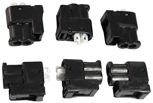 apdty-112607-ignition-coil-connector-set-of-6-fits-1994-1995-lexus-es300-1995-avalon-v6-30l-1994-199
