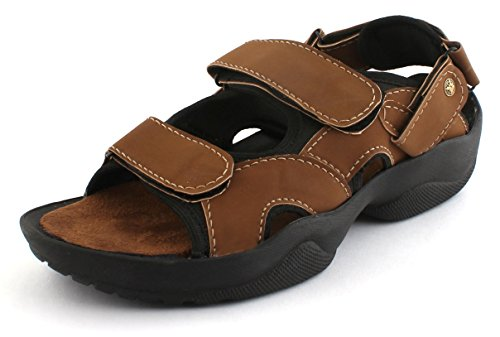 WOODSTONE MARINE Men's Leather Sandal
