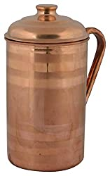 Aaruthraa Jug, 1-Piece, 1.5 Liters, Copper