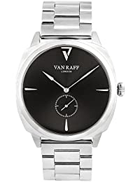 Van Raff Black Dial Stainless Steel Strap Analog Watch For Men VF1984