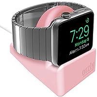 Orzly® Night-Stand for Apple Watch - ROSA Soporte con ranura para ocultar su cable de carga (Grommet Cargador y Cable NO INCLUIDO)