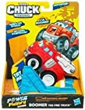 Funskool Tonka Chuck and Friends Boomer Fire Truck, Red