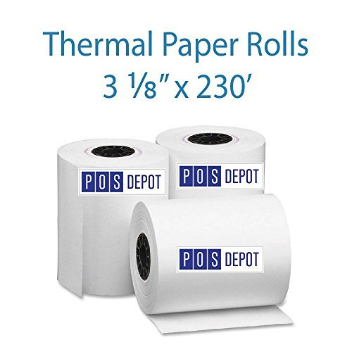 3-1-8-x-230-thermal-paper-rolls-1-case-of-50-fedex-ground-shipping-included-by-pos-depotcom