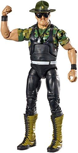 WWE Hall of Fame Elite Collection Sgt Slaughter Figure by Mattel (Wwe Of Fame Hall Mattel)