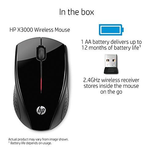 HP x3000 Optical Mouse (H2C22AA#ABB)