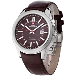 Swiss Mountaineer Automatic Omont Brown SM1492 Gents Watch