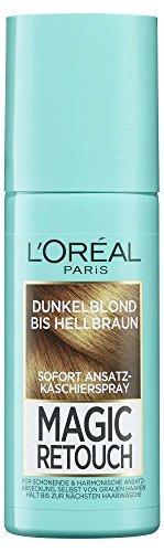 L'Oréal Paris Magic Retouch Ansatz-Kaschierspray, Dunkelblond bis Hellbraun, 1er Pack (1 x 75 ()