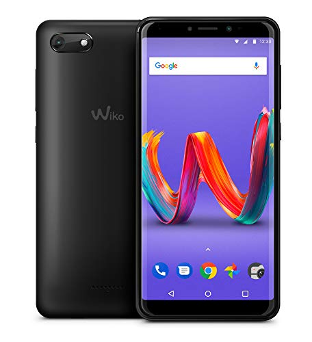 Wiko Harry2 - Smartphone Dual SIM de 5.45' (4G, Quad Core 1.3 GHz, RAM de 2 GB, Memoria de 16 GB, cámara de 13 MP, Android 8.1) Color Gris
