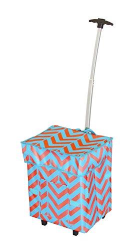 dbest-trendy-smart-cart-11-inch-x-13-x-43-cm-casse-chevron