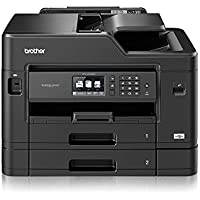 Brother MFCJ5730DWZU1 All-in-One A3 Inkjet Printer + Extra Set Of Compatible XL LC3219XL Inks (B 3,000, C,M,Y 1,500 Pages)