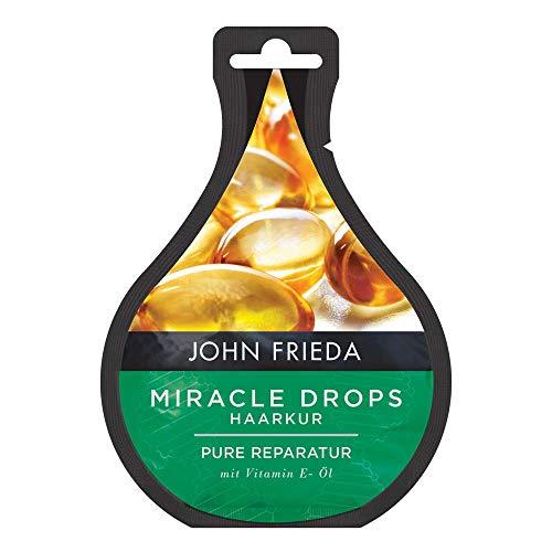 John Frieda Miracle Drops Haarkur Perfekte Reparatur mit Vitamin E-Öl, 25 ml