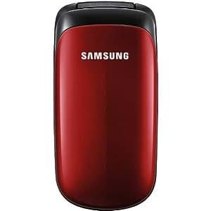 Samsung E1150i Téléphone portable GSM/EDGE Rouge