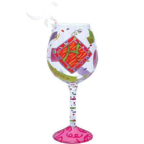 Studio Lolita Holiday Mini-Weinornament, Buchstabe H ()