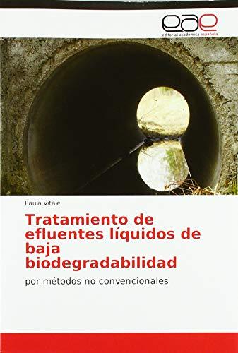 Tratamiento de efluentes líquidos de baja biodegradabilidad: por métodos no convencionales